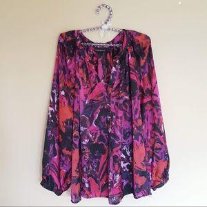 Lane Bryant purple pink blouse size 3x